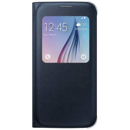 Samsung S View Cover Original Black Galaxy S6