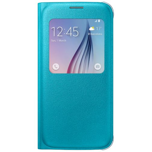 Samsung S View Cover Original Blue Galaxy S6