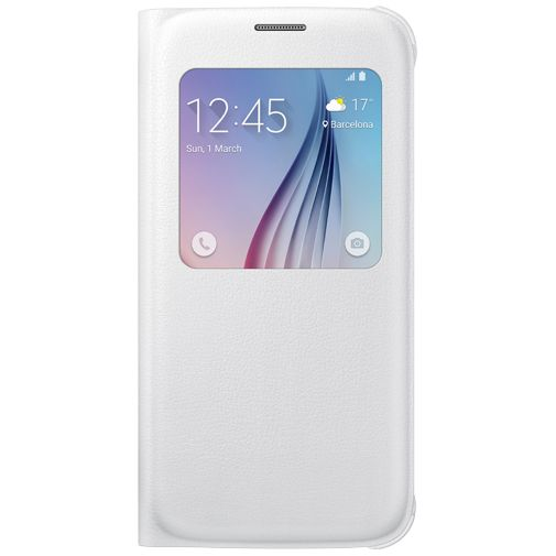 Samsung S View Cover Original White Galaxy S6