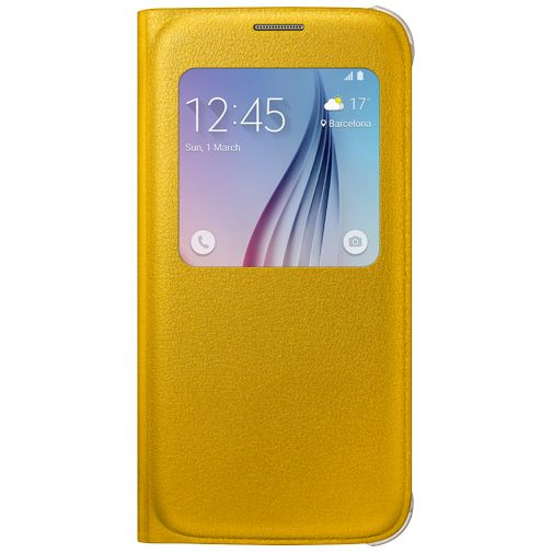 Samsung S View Cover Original Yellow Galaxy S6