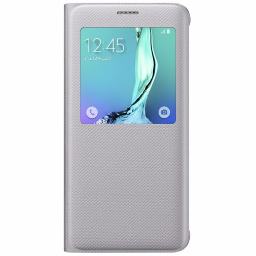 Samsung S View Cover Silver Galaxy S6 Edge Plus