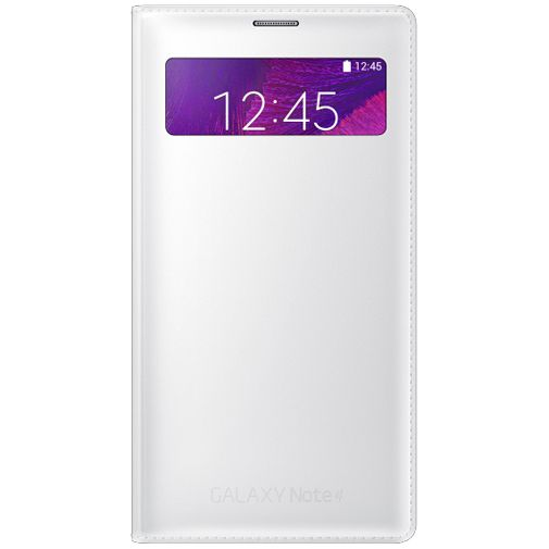 Samsung S View Wallet White Galaxy Note 4