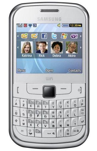 Samsung S3350 Ch@t Chic White