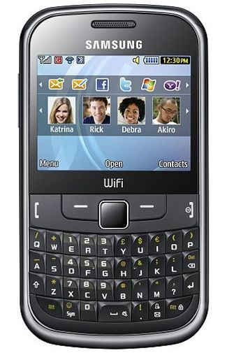 Samsung S3350 Ch@t Metallic Black