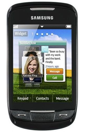 Samsung S3850 Corby II Black