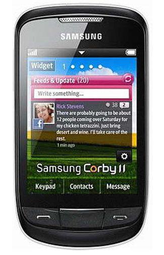 Samsung S3850 Corby II White