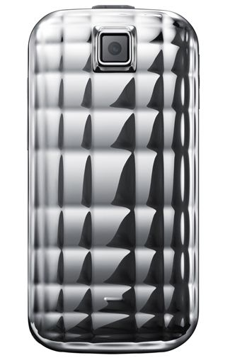 Samsung S5150 Diva Folder Metallic Silver