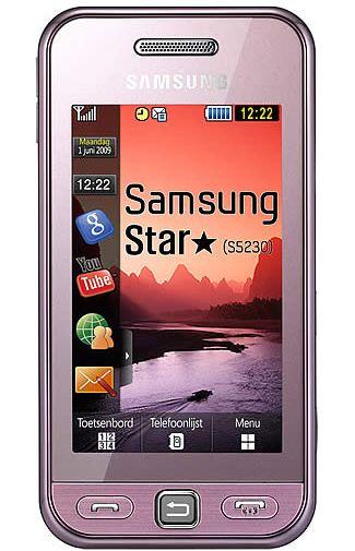 Samsung S5230 Star Pink