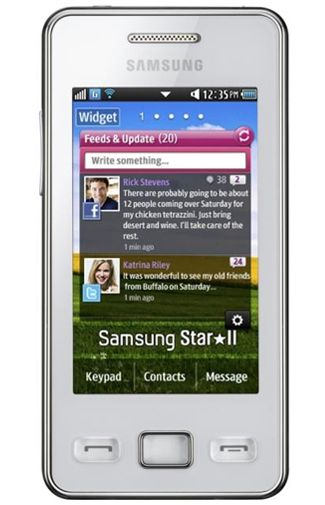 Samsung S5260 Star II White