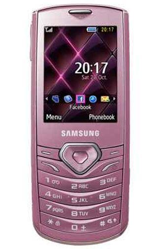 Samsung S5350 Pink