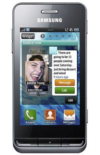 Samsung S7230 Wave TouchWiz Grey