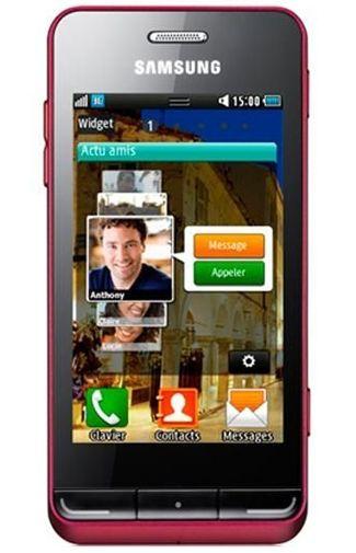 Samsung S7230 Wave TouchWiz Red