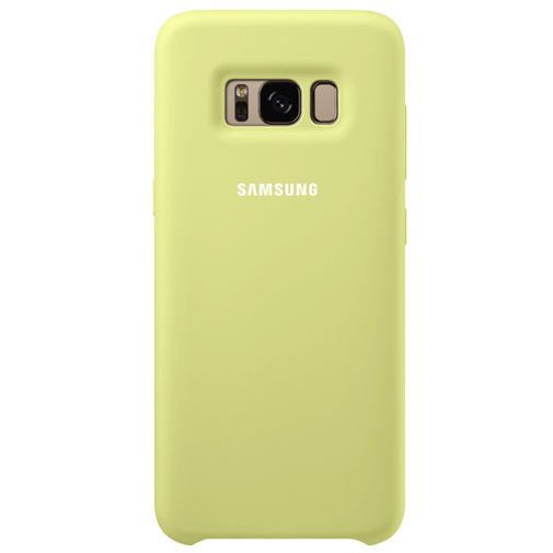 Samsung Silicone Cover Green Galaxy S8+