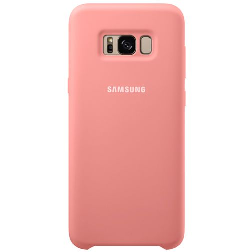 Samsung Silicone Cover Pink Galaxy S8+