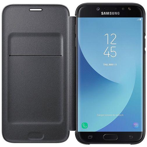 Samsung Wallet Cover Black Galaxy J7 (2017)