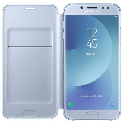 Samsung Wallet Cover Blue Galaxy J7 (2017)