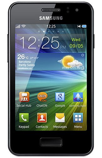 Samsung Wave M S7250 Black