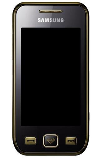 Samsung Wave S5750 Black Gold