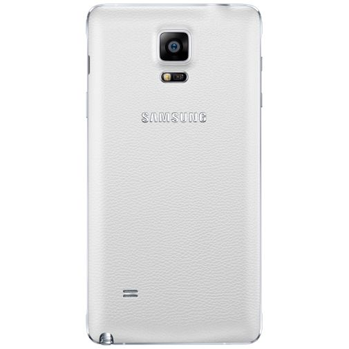 Samsung Wireless Charging Cover White Galaxy Note 4