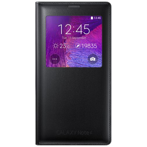 Samsung Wireless Charging View Cover Black Galaxy Note 4