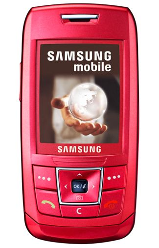 Samsung E250 Pink