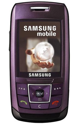Samsung E250 Violet