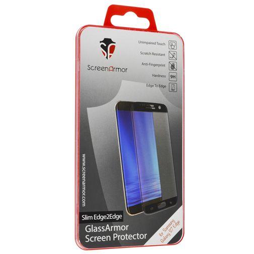 Productafbeelding van de ScreenArmor Glass Armor Edge-To-Edge Screenprotector Samsung Galaxy S7 Edge Slim Black