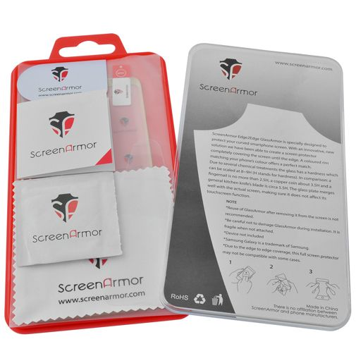 ScreenArmor Glass Armor Edge-To-Edge Screenprotector Gold Samsung Galaxy S8