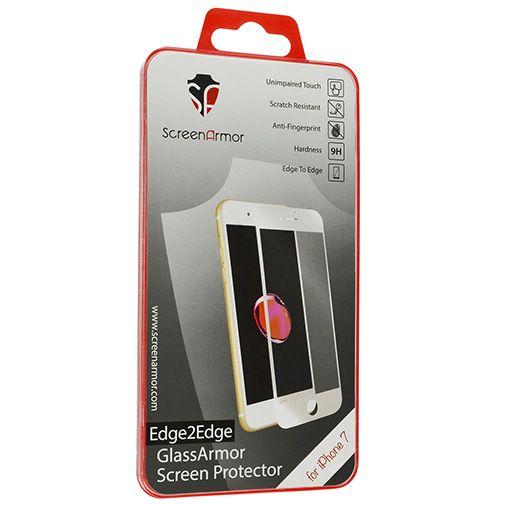 ScreenArmor Glass Armor Edge-to-Edge Screenprotector Apple iPhone 7/8 White