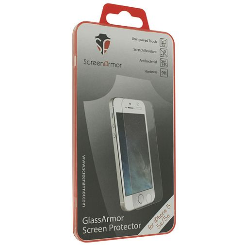 ScreenArmor Glass Armor Regular Screenprotector Apple iPhone 5/5S/5C/SE