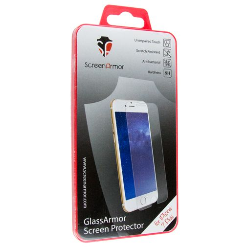 ScreenArmor Glass Armor Regular Screenprotector Apple iPhone 7 Plus/8 Plus