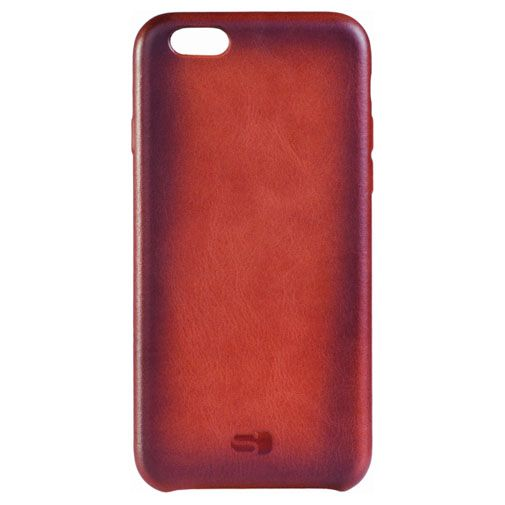 Senza Desire Leather Cover Burned Cognac Apple iPhone 6/6S