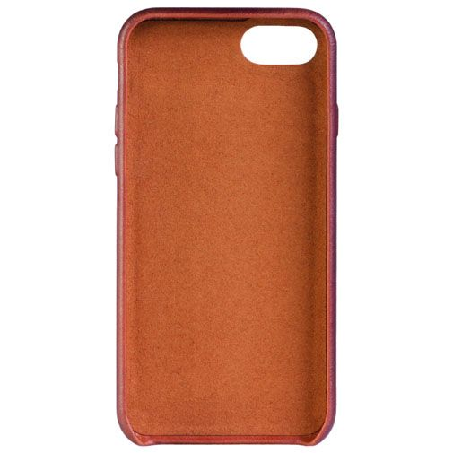Senza Desire Leather Cover Burned Cognac Apple iPhone 7/8