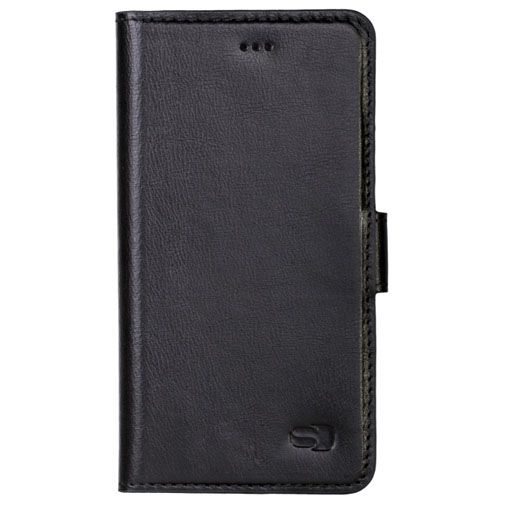 Senza Pure Leather Wallet Deep Black Apple iPhone 6/6S