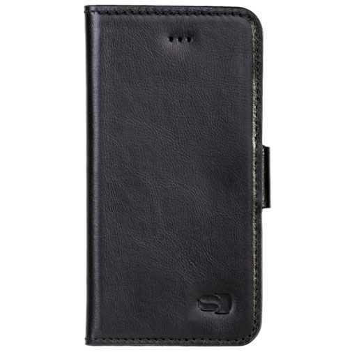 Senza Pure Leather Wallet Deep Black Apple iPhone 7/8