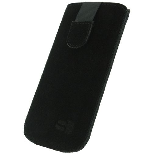 Senza Suede Slide Case Night Black Size XXL