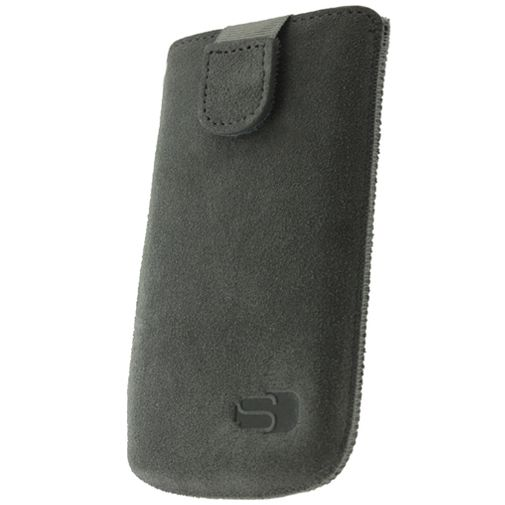 Senza Suede Slide Case Warm Grey Size L