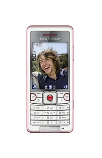 Sony Ericsson C510 Cyber Shot Energetic Red
