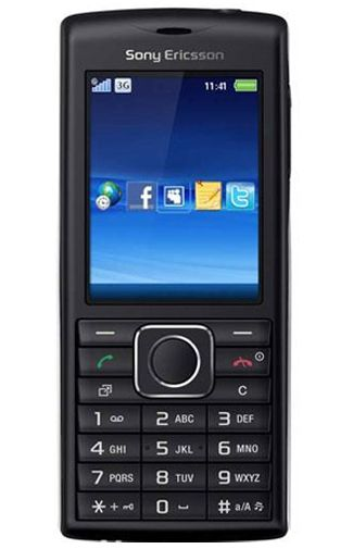 Sony Ericsson Cedar Black Silver