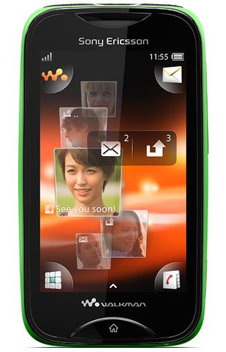 Sony Ericsson Mix Walkman Black Green