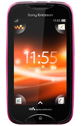 Sony Ericsson Mix Walkman Black Pink