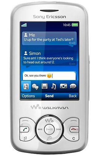 Sony Ericsson Spiro Contrast Black