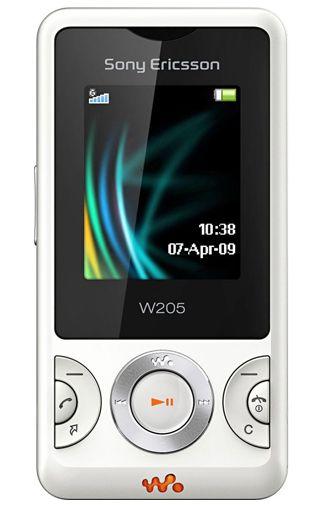 Sony Ericsson W205 White
