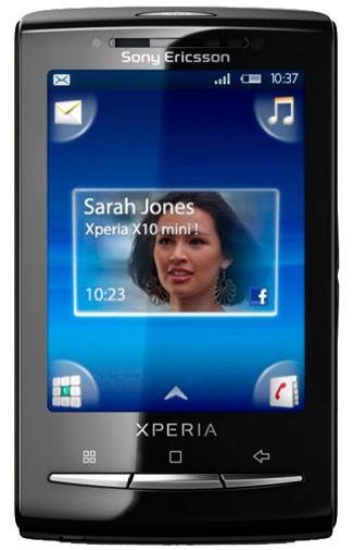 Sony Ericsson X10 Mini White Pink