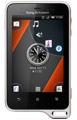 Sony Ericsson Xperia Active White Orange