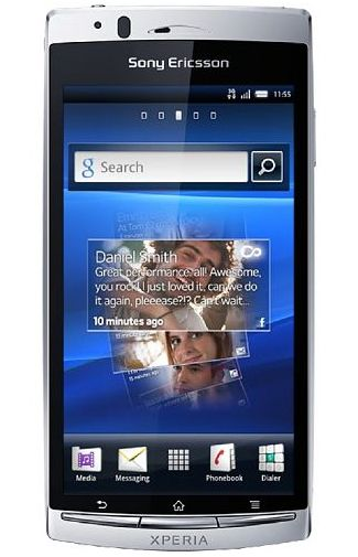 Sony Ericsson Xperia Arc Misty Silver