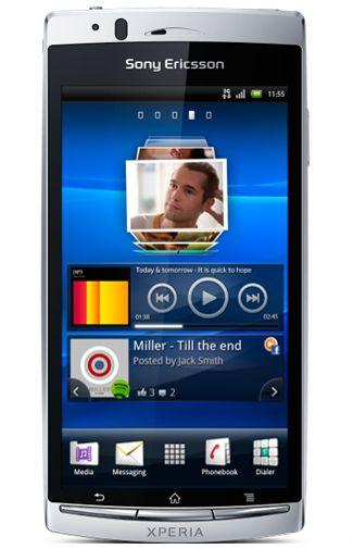 Sony Ericsson Xperia Arc S Silver