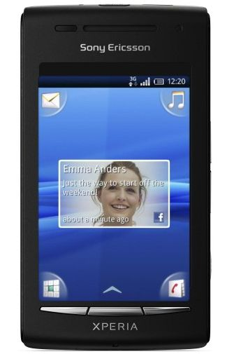 Sony Ericsson Xperia X8 Black Grey