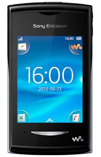Productafbeelding van de Sony Ericsson Yendo Black Silver