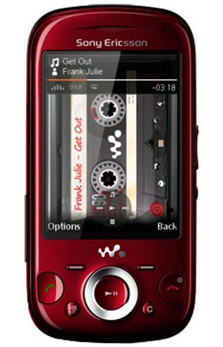 Sony Ericsson Zylo Red